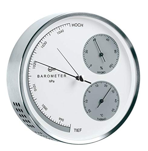 Barigo Acero Inoxidable estación meteorológica Barómetro