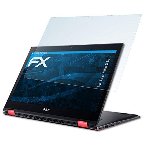 atFolix Schutzfolie kompatibel mit Acer Nitro 5 Spin Folie, ultraklare FX Bildschirmschutzfolie (2X)