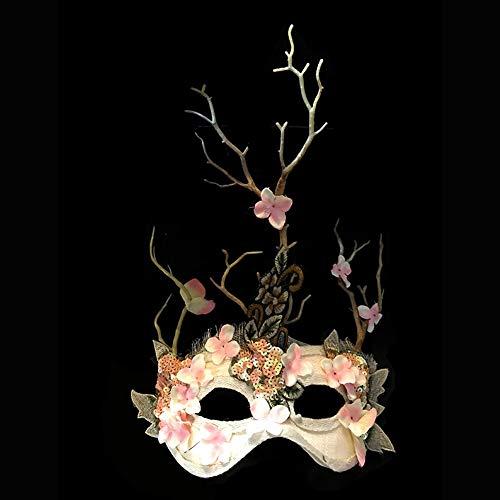 sche Maskerade, die Hauptmaske des Prinzessinnenwaldes, geeignet für Partys, Laufstege, Halloween-Masken (Color : C) ()