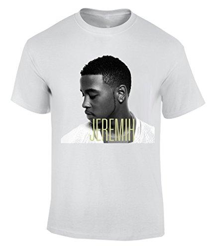 Jeremih T-Shirt Herren Weiß