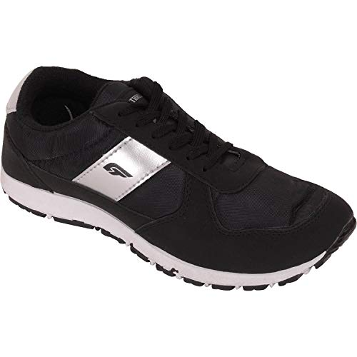 Bata Men Black Running Sports Shoes