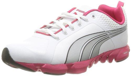 Puma Damen W Formlite Xtultra Sl Hallenschuhe, Weiß (Blanc (White, Silver, Virtual Pink), 39 EU