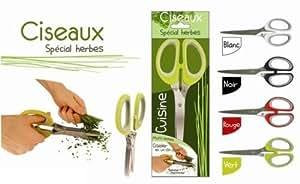 Ciseaux 5 Lames pour Herbes Aromatiques -NEUF-Saveur et dégustation