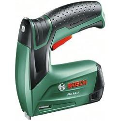 Bosch 0603968101 PTK 3.6 Li - Grapadora de construcción (ión litio, en maletín)