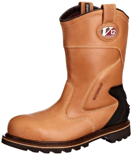 The VTech V12 Tomahawk V1250 Waterproof Rigger Boots are one of the best boots in the market. The boast of high-quality Goodyear welted construction which reassures you of their performance. We like that the boots are easy to wear and walk around in. For those of us with sweaty feet, the linings provided will facilitate breathability. For those in electrical fields, the anti-static and heat resistant features will prove worth the challenge. Affordable, durable, anti-slippery, the VTech V12 Tomahawk V1250 Waterproof Rigger boots are made for all worksite environments.