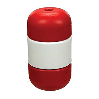 Handi-Lock Safety Line Float - Red & White - 3/4-Inch by American Granby