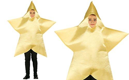 Guirca Stern von Bethlehem Kostüm für Kinder Gr. -