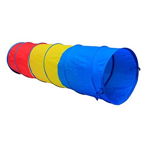 Túnel para carpas - Túnel emergente para niños - Tubo de juguete para niños Adventure Discovery - Adecuado para todo tipo de carpas de juguete / Hoyos para pelotas de juguete / Carpas Castle,A,1piece