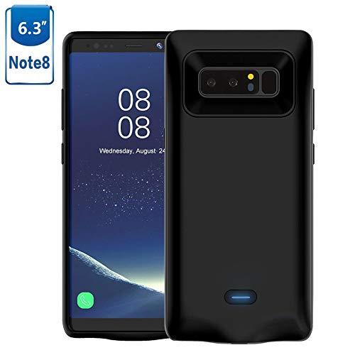 Mbuynow Samsung Galaxy Note 8 Akku Hülle 5500 mAh Handyhülle Ultra dünnes Akku Case Hülle Lithium-Polymer Battery Akkucase Power Bank Cover für Samsung Galaxy Note 8 (Note 8)