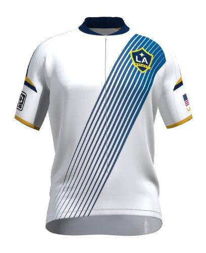 VOMAX MLS Los Angeles Galaxy Herren das Short Sleeve Jersey, Jungen, weiß, Medium - Galaxy Jersey