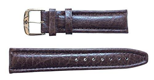 JACQUES LEMANS Uhrenarmband Leder 20 mm Dunkelbraun