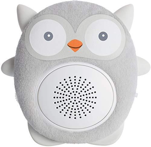 Soundbub, macchina di suoni bianchi e altoparlante bluetooth | riproduttore di ninna nanna portatile e ricaricabile per neonati di wavhello - ollie, il gufo
