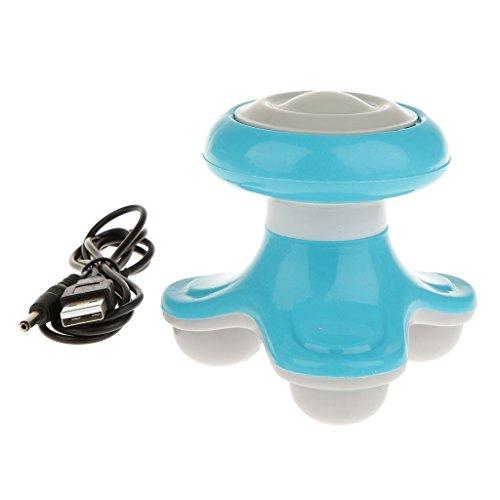 Qingsun Mini Massager beweglicher USB Electric Vibrator Triangle Massager Körper-Massagegerät Reisen Massage 99*91*90mm (Massager Bath Mini)