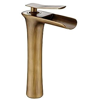 41o%2BIFGAG9L. SS324  - DP Grifería - Grifo monomando de lavabo efecto cascada ,modelo Amaranto