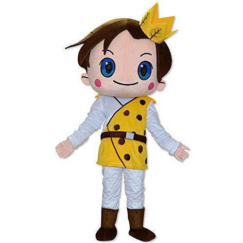 (Aszhdfihas Cartoon Kostüm Requisiten Bühne Menschen Tragen Leistung Benutzerdefinierte Großhandel Puppe Kopfbedeckungen Prince Dolls Deko-Kranz (Größe : S))