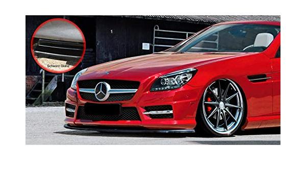 Cup spoiler lèvre Mercedes SLK r172 Standard//AMG noir brillant