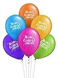 ocballoons Palloncini Compleanno Colorati in Lattice Kit Festa Addobbi Decorazioni per Feste Party Biodegradabili Confezione 20pz