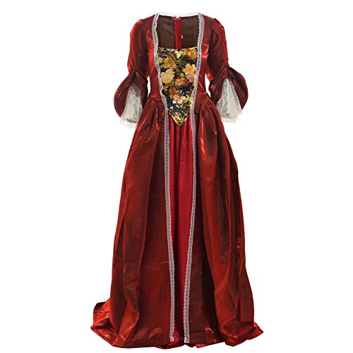 Kostüm Ball Kleid - BLESSUME Frau Rokoko Marie Antoinette Kleid Kostüm Maskerade Ball Kleid