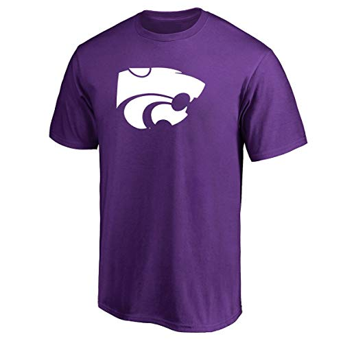 Profile Varsity Herren T-Shirt Kansas State University Big & Tall Wildcats Logo, Herren, violett, XLT Kansas State University