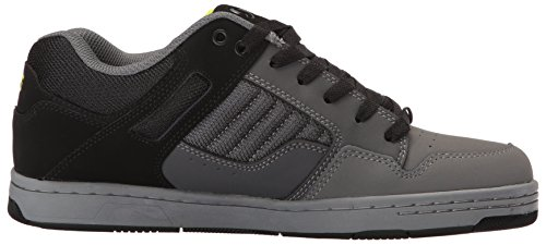 DVS Shoes Enduro 125, Scarpe da Skateboard Uomo Charcoal Black Nubuck