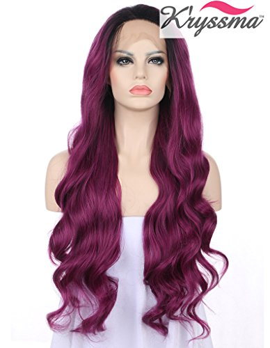 kryssma-fashion-long-ombre-purple-wavy-wigs-for-ladies-soft-synthetic-lace-front-wig-high-quality-he
