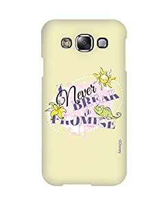 Pick pattern Back Cover for Samsung Galaxy E5 SM-E500F