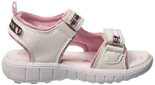 Lumberjack Spongy, Escarpins fille Bianco (White/Pink)