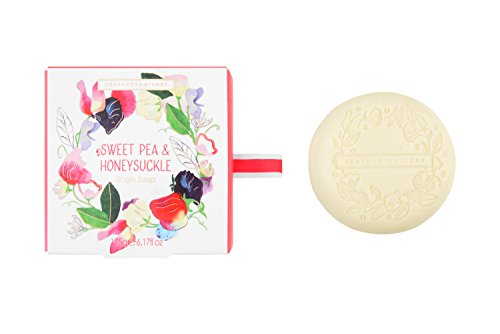 Heathcote & Ivory Sweet Pea and Honeysuckle Gift Soap, 175 g