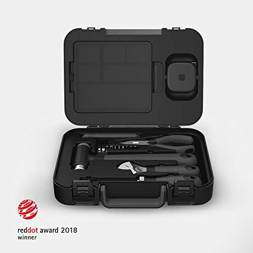MIIIW Werkzeugset im Koffer Werkzeugkoffer Werkzeugkasten für den Haushaltsbereich Universal-Haushalts-Werkzeugkoffer MWTK01