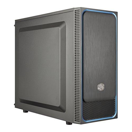 Cooler Master MasterBox E500L Blau PC-Gehäuse, Midi-Tower, ATX