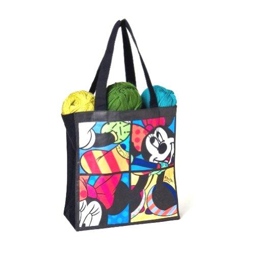 Disney 4024492 Topolino Tote Bag Resina, Design di Romero Britto, 61 cm