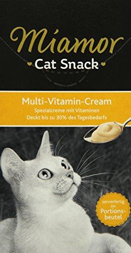 Miamor Katzensnack Multi-Vitamin Cream 6 x 15 g, 11er Pack (11 x 90 g)