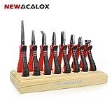 Zangen-Set für Schmuckherstellung, 8-teilige Zange mit Holzpalette, NEWACALOX 4,5
