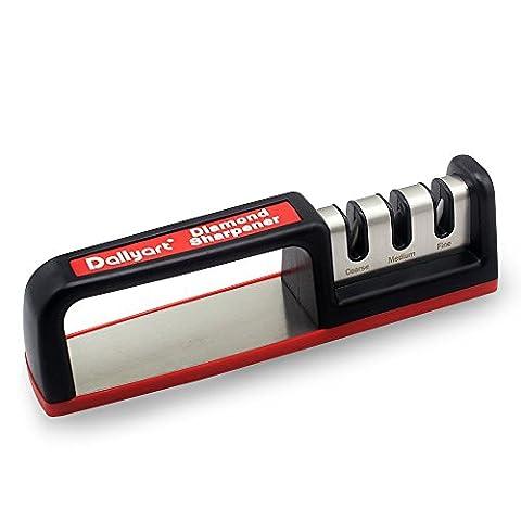 Dailyart Messerschärfer 3 Bühnenschärfsystem Küchenmesser Handsystem