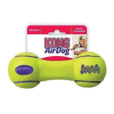 KONG Air Dog Squeaker Dumbbell Dog Toy - Medium