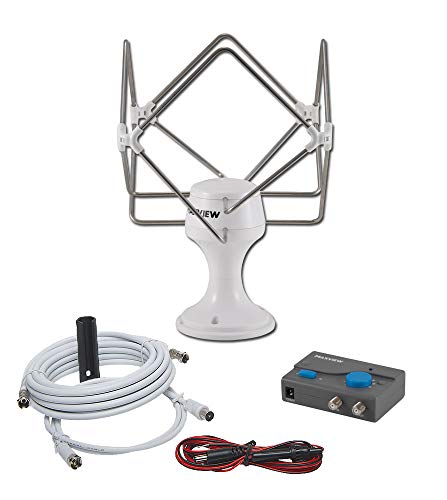 Maxview - Antena de TV para camión y Caravana
