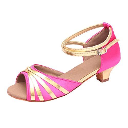 Theshy le donne della moda ballare sandali con i tacchi bassi scarpe da ballo latino rumba waltz ballroom sandali estivi donna platform eleganti sandali estivi donna eleganti con tacco basso