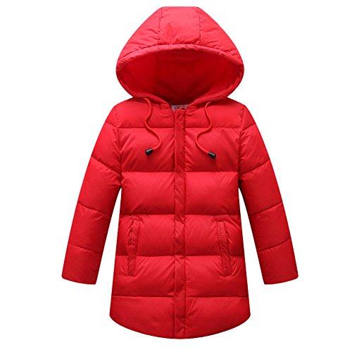 Harveyman Ragazzi inverno caldo dell'anatra giù del cappotto di inverno