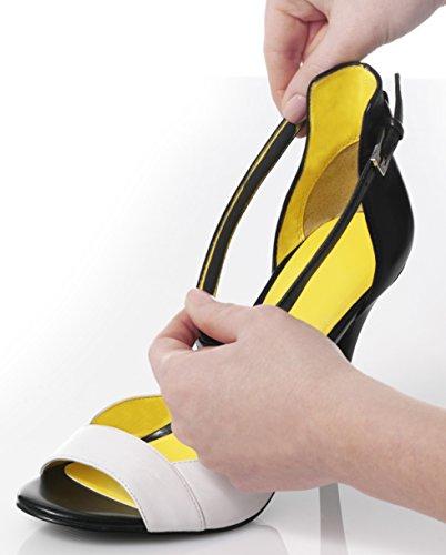 FOOT PETALS-Strips Strappy-8 strisce di poron® auto-adesive e aperti Sandali-Scarpe Size: