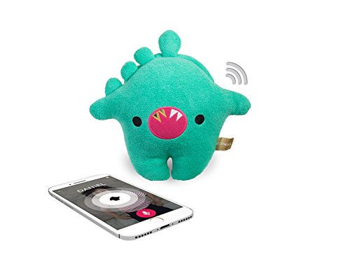 Talkie by Toymail: Hank a Dino, Voice chat smart toy lets kids stay connected to you, As seen on Shark Tank (Tank Adorable)