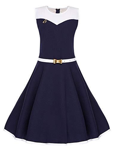 cocomini Kleid für Mädchen schön Elegant Bequem EXPRESSVERSAND mit DPD (146)