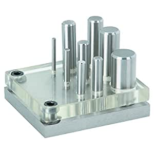 9 Piece Punch and Die Set from TNM by Lifetime Carbide
