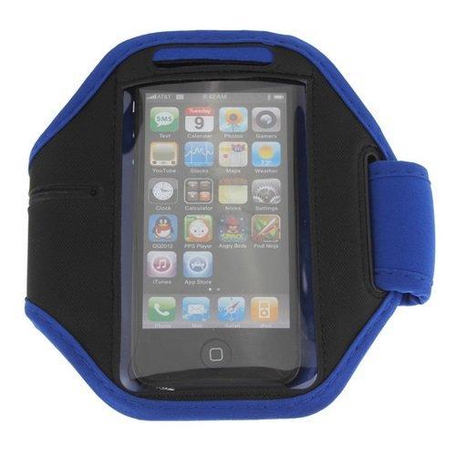 DEET TM951–blu Samsung Galaxy S4Mini, S3mini, Galaxy Ace 2e Nokia Lumia 520/620sport da braccio portacellulare per jogging palestra di sport Walking sollevamento pesi, canottaggio e molto altro. Custodia protettiva per il tuo telefono cellulare. Nuova custodia di qualità premium