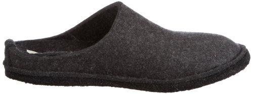Haflinger Soft Unisex-Erwachsene Pantoffeln Grau (Graphit 77)
