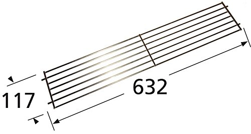 Music-City-Metals-02345-Chrome-Steel-Wire-Warming-Rack-for-Weber-Brand-Gas-Grills-Silver