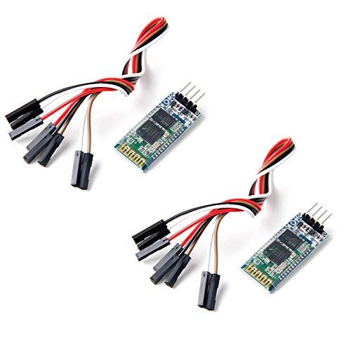 Neuftech 2X Comunicación Serie Inalámbrica Bluetooth Serial transceptor del...
