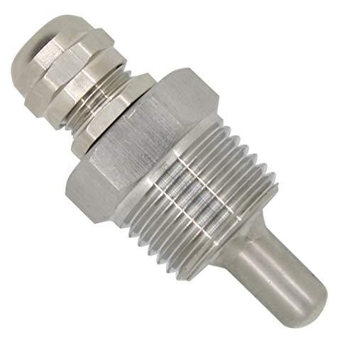1/2 Zoll - tauchhülse 1/2 edelstahl für Thermometer Eintauchen von 30mm 50mm 100mm 150mm 200mm 300mm 400mm 500mm (30mm)