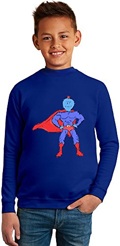Im Mr Meeseeks Superb Quality Boys Sweater by BENITO CLOTHING - 50% Cotton & 50% Polyester- Set-In Sleeves- Open End Yarn- Unisex for Boys and Girls