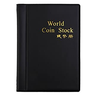 AKORD Coin Collectors Collecting Album 120 Coin Holders