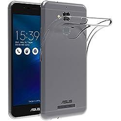 AICEK Coque ASUS ZenFone 3 Max ZC520TL (5.2 Pouces), Etui Silicone Gel ASUS ZenFone 3 Max Housse Antichoc ZenFone 3 Max Transparente Souple Coque de Protection pour ASUS ZenFone 3 Max